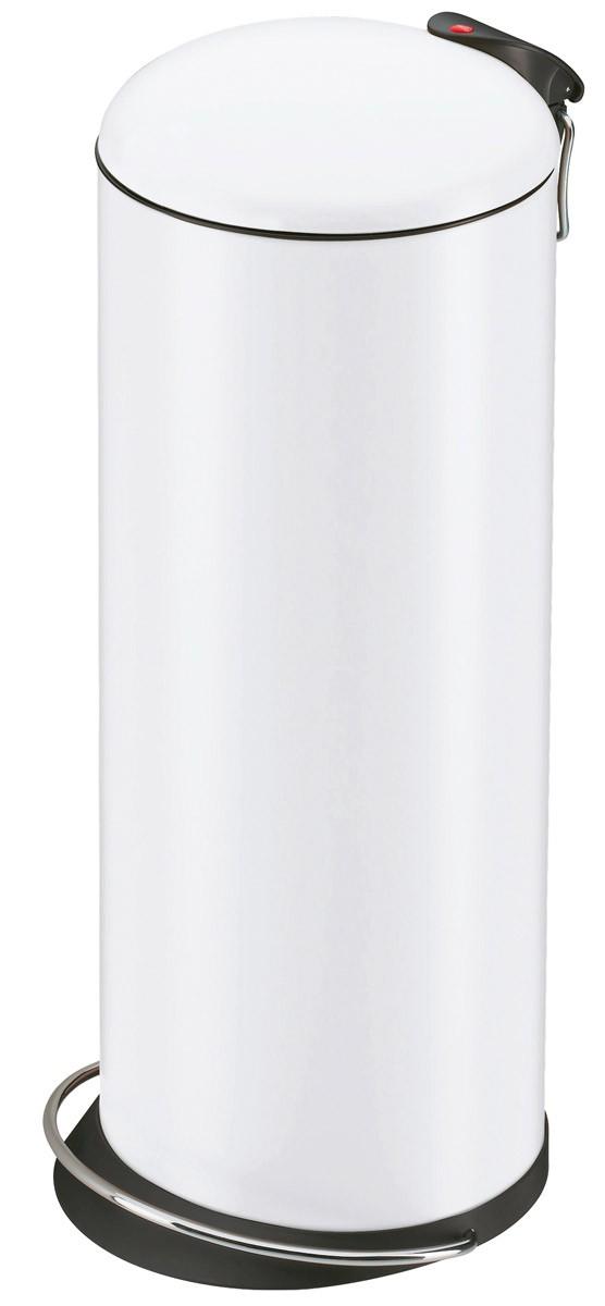 Abfalleimer / Tret-Abfalleimer Hailo Trento 16 Liter weiß Bild 1