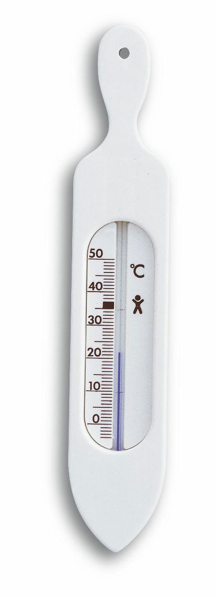 Badethermometer TFA Länge 19 cm Bild 1