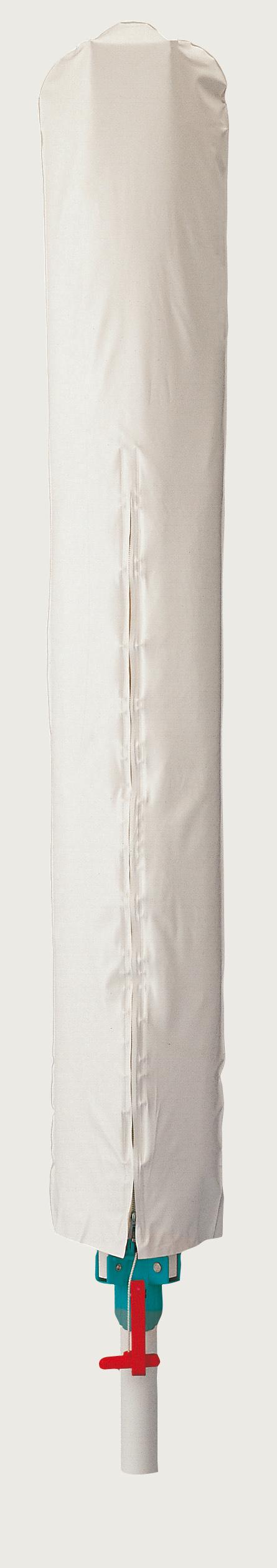 Blome Universal Schutzhülle Wäschespinne / Sonnenschirm 175x34cm weiß Bild 1