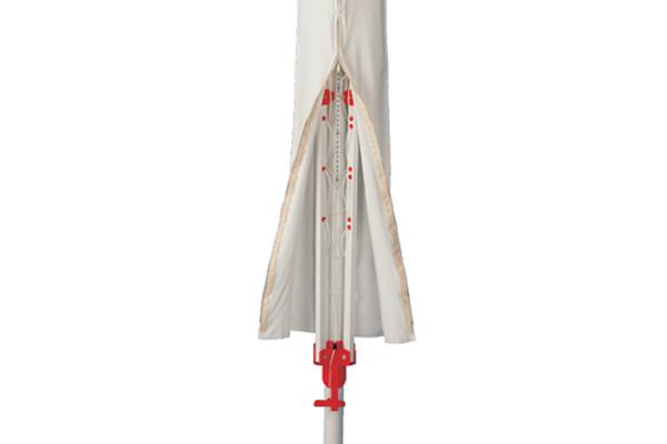 Blome Universal Schutzhülle Wäschespinne / Sonnenschirm 175x34cm weiß Bild 2