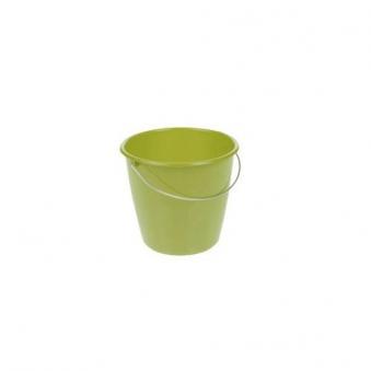Eimer / Putzeimer mit Stahlbügel keeeper 5Liter farn grün Bild 1