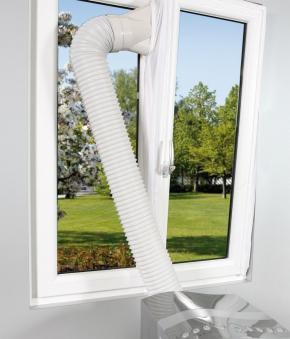 Einhell Hot Air Stop Abluft Spezialfolie für Fenster Bild 2