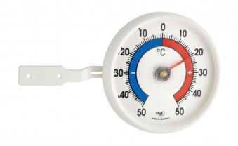 Fenster-Thermometer TFA 14.6004 Kunststoff weiß Bild 1