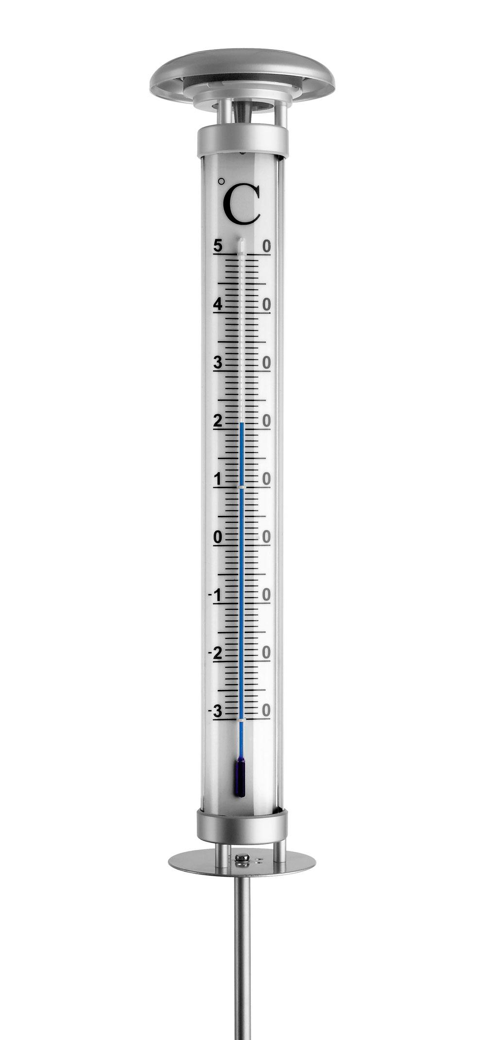 Gartenthermometer / Bodenthermometer Solino FS-TFA mit Solarlicht Bild 1