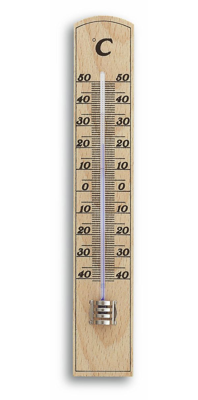 Innenthermometer TFA 12.1004 Buche 20cm Bild 1