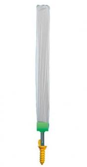 JUWEL Ersatzschutzhülle für Wäschespinne silber limette Bild 1