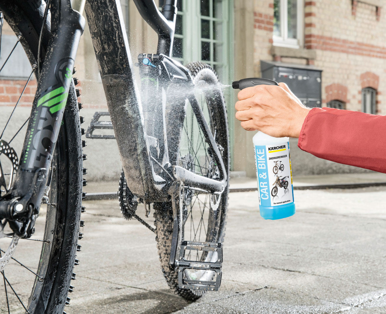 Kärcher Zubehörbox Bike OC3 für mobiler Druckreiniger Bild 3