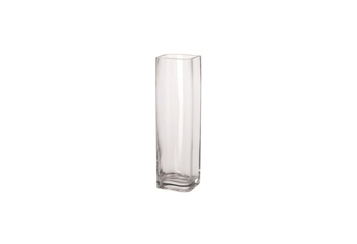 Leonardo Vase Lucca Glas klar 11x11x40cm Bild 1