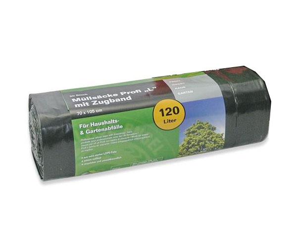 Müllsack / Müllbeutel Profi L Noor 70x105cm schwarz 120L Bild 1