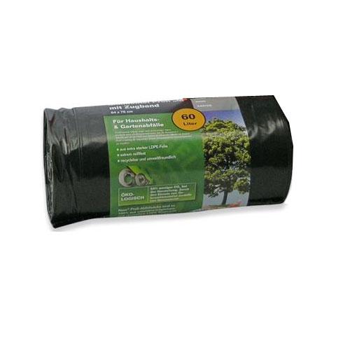 Müllsack / Müllbeutel Profi M Noor 64x76cm schwarz 60L Bild 1