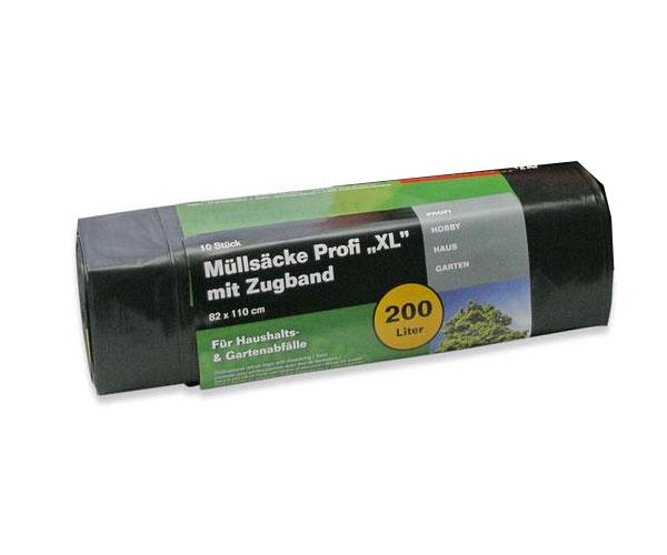 Müllsack / Müllbeutel Profi XL Noor 82x110cm schwarz 200L Bild 1