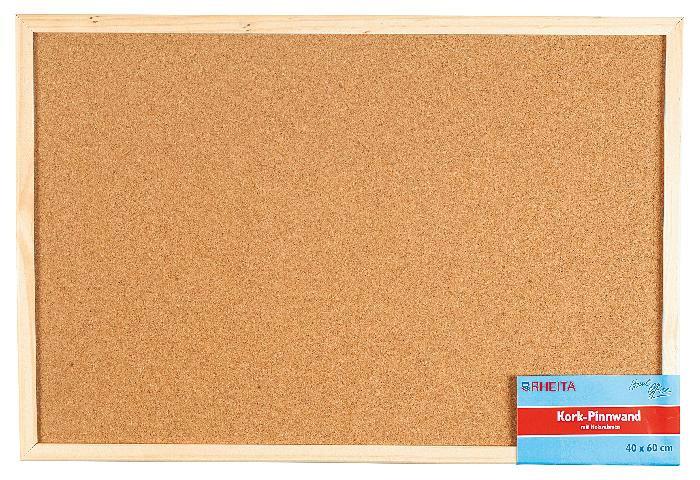 Pinnwand Natur Kork 40x60cm Bild 1