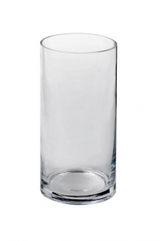 Sandra Rich Vase Cyli Glas klar Ø10cm H 20cm Bild 1
