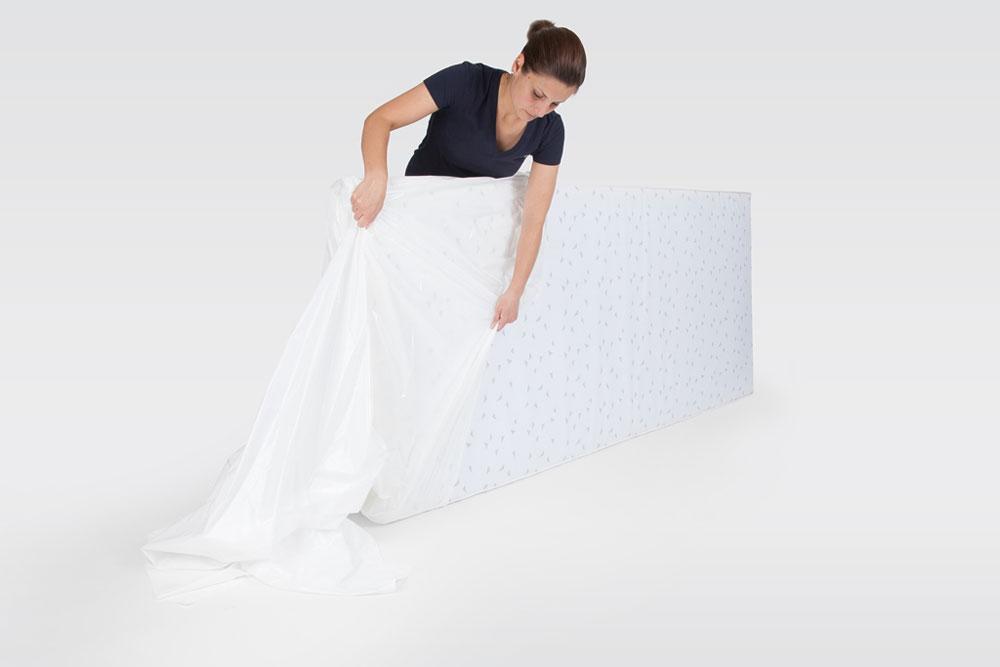 Schutzhülle / Abdeckhaube für Matratzen 2 Stück Bild 2