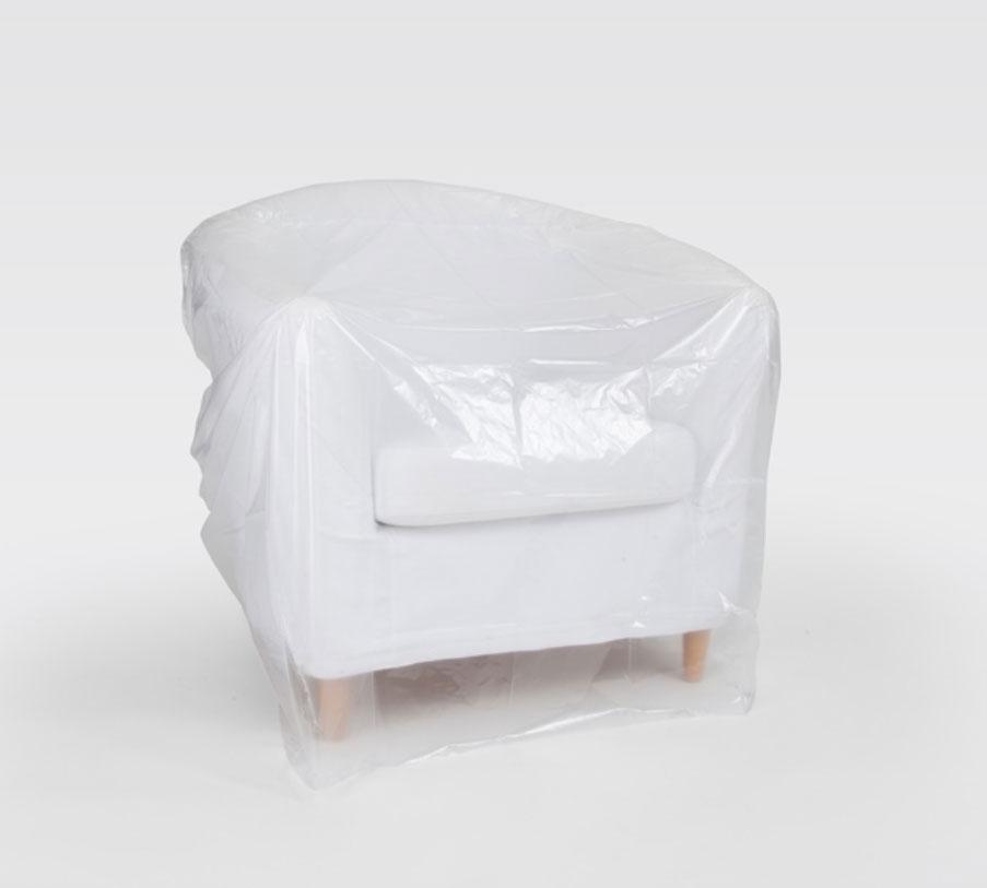 Schutzhülle / Abdeckhaube für Sessel 160x110cm 2Stück Bild 2