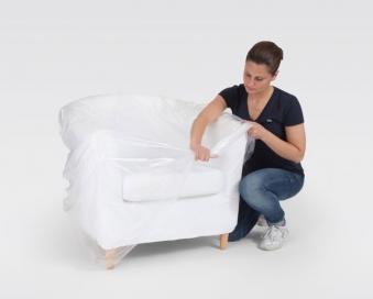 Schutzhülle / Abdeckhaube für Sessel 160x110cm 2Stück Bild 3