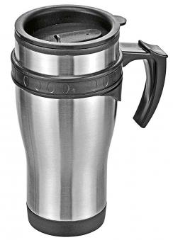 Trinkbecher mit Griff / Kaffee to go 450ml Bild 1