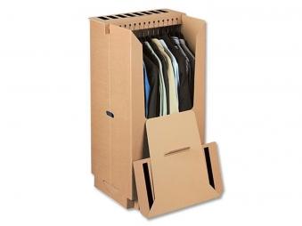 Umzugskarton / Kleiderbox mit Deckel Bild 1