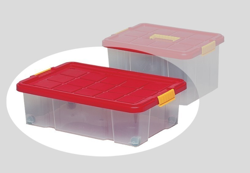 Unterbettbox mit Rollen / Homestyle Unterbettbox 60x40x18cm Bild 1