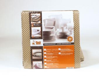 Verpackungsset / Verpackungspapier für Speiseservice Bild 1