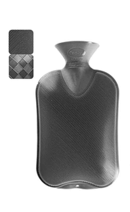 Wärmflasche Halblamelle anthrazit 2Liter Bild 1