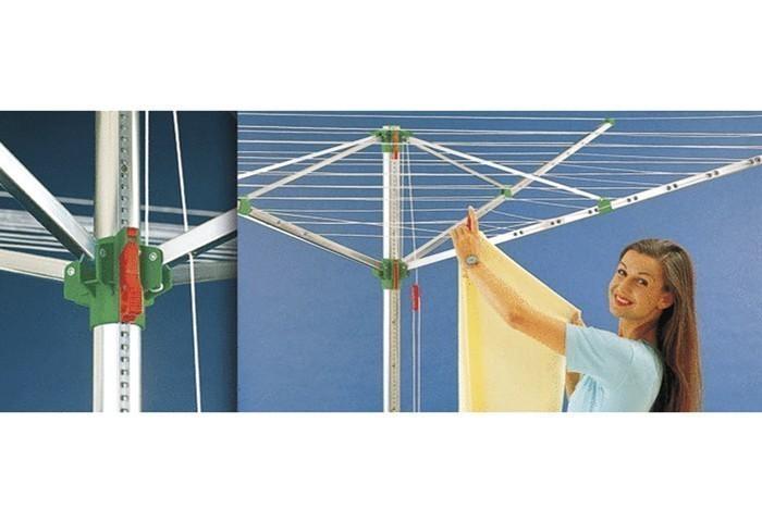 Wäschespinne / Wäschetrockner Comfort Plus 600 52,1m JUWEL Bild 1