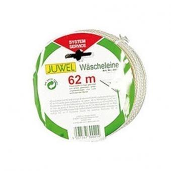 JUWEL Wäscheleine Ersatzleine für Wäschespinnen Länge 62m