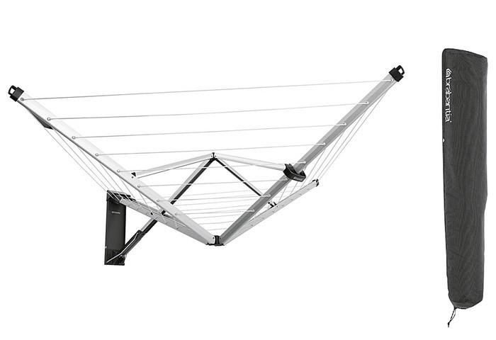 Wandwäschetrockner Wallfix / Wäschespinne 24m BRABANTIA Bild 1