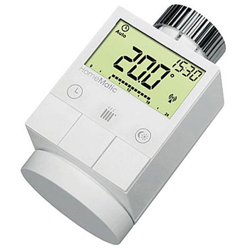 HomeMatic Funk-Heizkörperthermostat HM-CC-RT-DN für Smart Home Bild 1