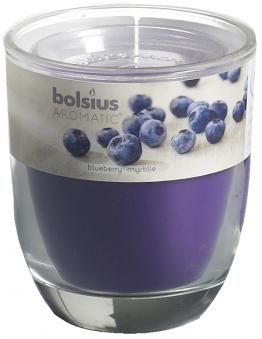 Bolsius Duftkerze Aromatic im Glas Bolsius Blaubeere Bild 1