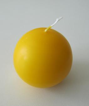 Eika Kugelkerze Ø 70mm mais gelb Bild 1