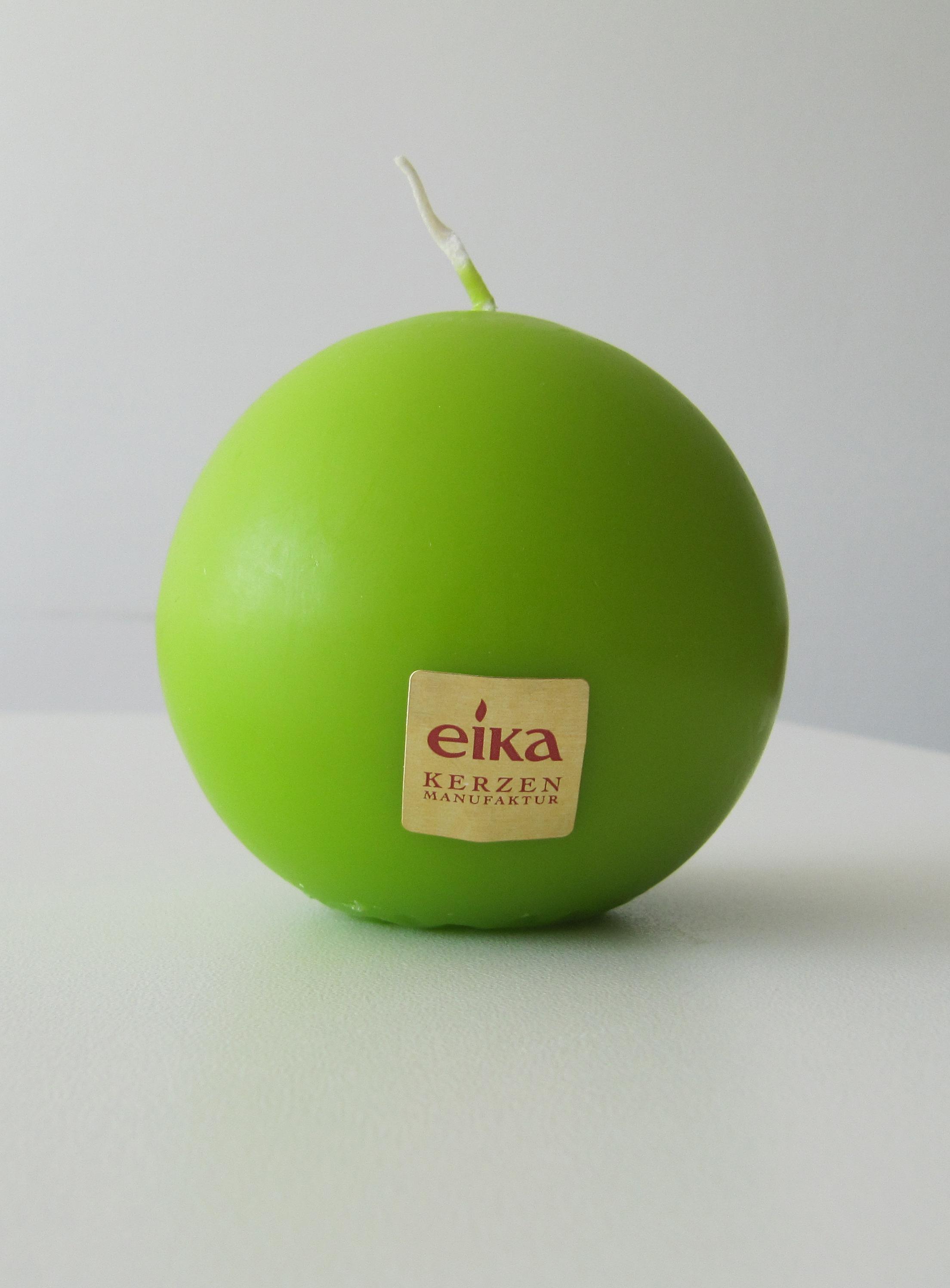 Eika Kugelkerze Ø 70mm pistazie grün Bild 1