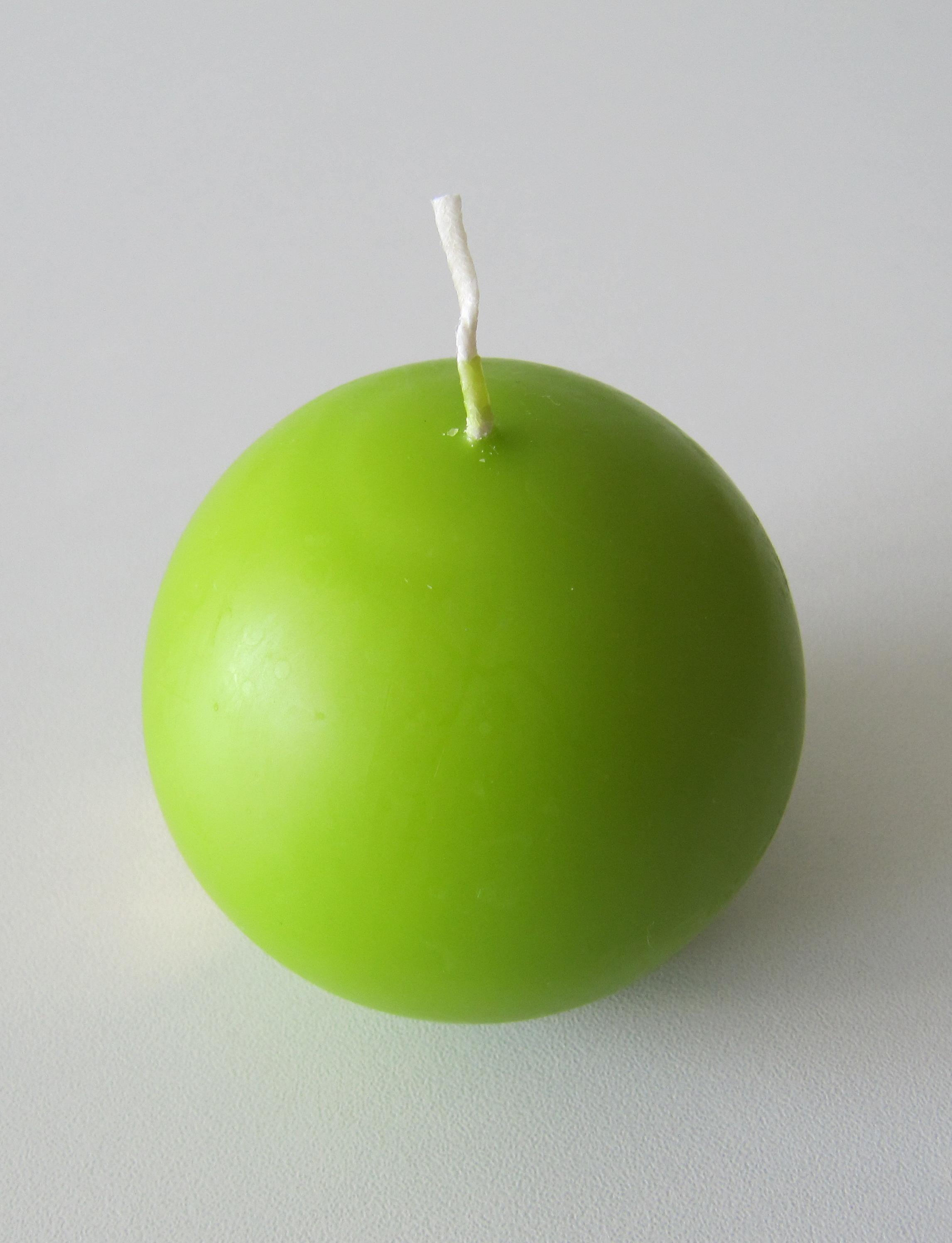 Eika Kugelkerze Ø 70mm pistazie grün Bild 2