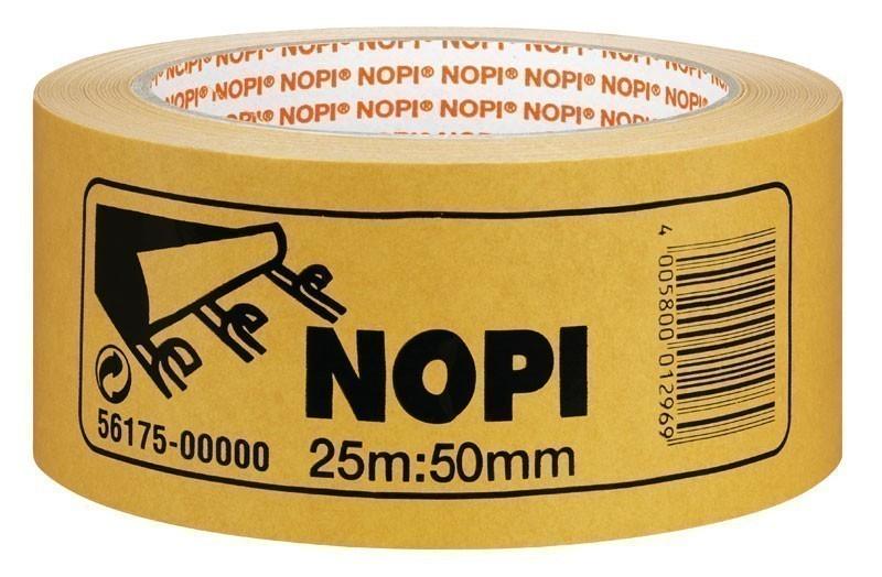 NOPI® Doppelseitiges Klebeband / Teppichverlegeband 50 mm x 25 m Bild 1