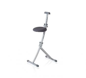Leifheit Sitz- und Stehhilfe Multisitz Niveau chrom