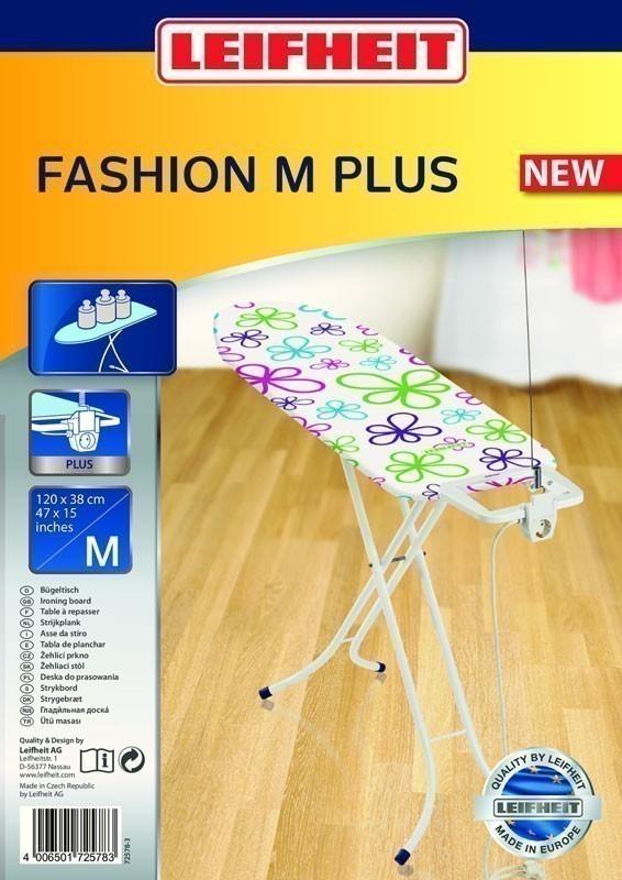 Leifheit Bügelbrett / Bügeltisch Fashion M Plus 120 x 38 cm Bild 2