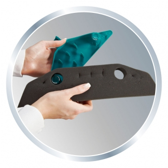Leifheit Ersatzschaumstoff für Schaumstoffbesen Soft & Easy Bild 4