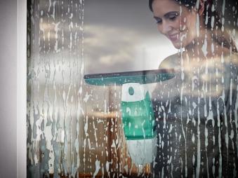 Leifheit Fenstersauger Dry & Clean inkl. Stiel und Einwascher Bild 4