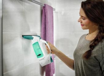 Leifheit Fenstersauger Dry & Clean inkl. Stiel und Einwascher Bild 5