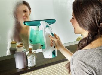 Leifheit Fenstersauger Dry & Clean inkl. Stiel und Einwascher Bild 6