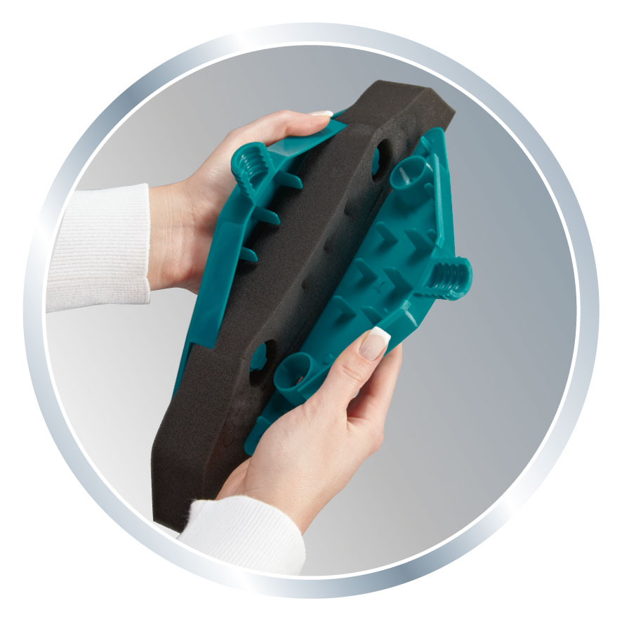 Leifheit Schaumstoffbesen Soft & Easy mit Teleskopstiel Bild 4