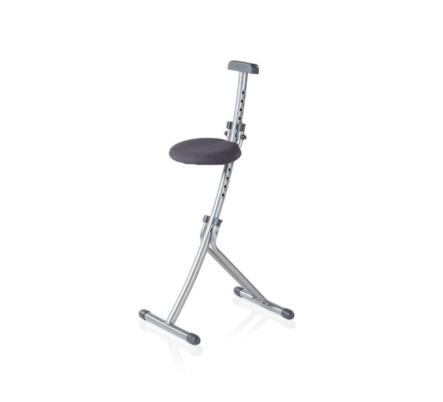 Leifheit Sitz- und Stehhilfe Multisitz Niveau chrom Bild 1