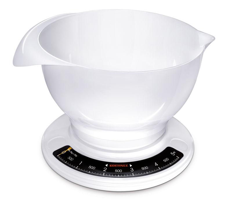 Soehnle Küchenwaage Culina Pro weiß Bild 1