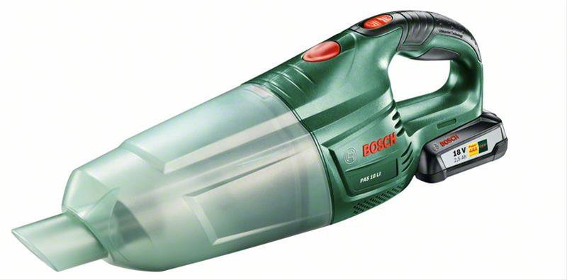 Bosch Akku Handstaubsauger PAS 18 LI 18 V / 2,5 Ah (mit 1 Akku) Bild 1