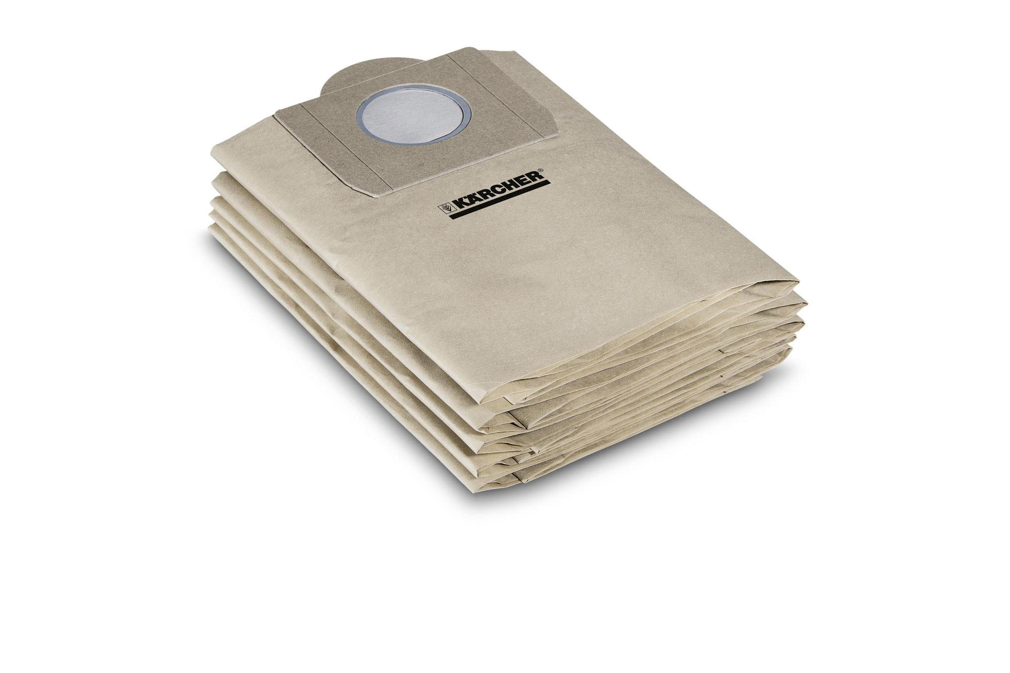 Kärcher Filtertüten zu Nass- / Trockensauger K 2001 10 Stück Bild 1