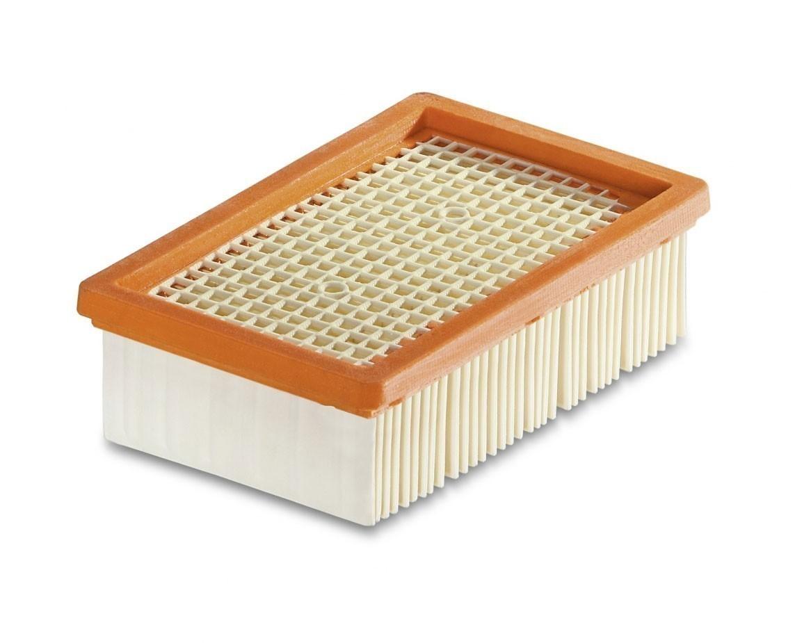 Kärcher Flachfaltenfilter für Mehrzwecksauger MV 4-MV 6 / WD 4-WD  6 Bild 1