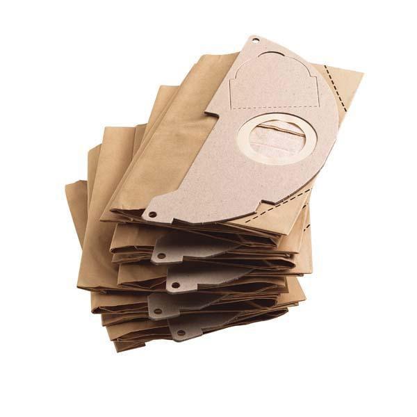 Kärcher Papierfiltertüten zu WD 2 5 Stück Bild 1