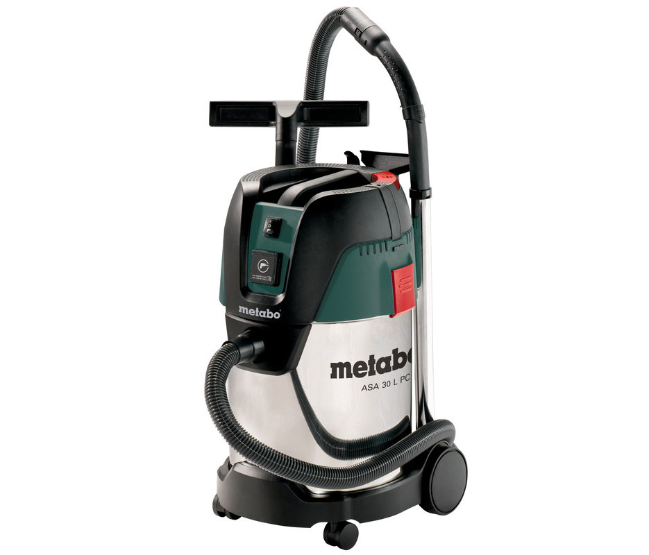 Metabo Nass- / Trockensauger / Allessauger ASA 30 L PC Inox 1250 Watt Bild 1