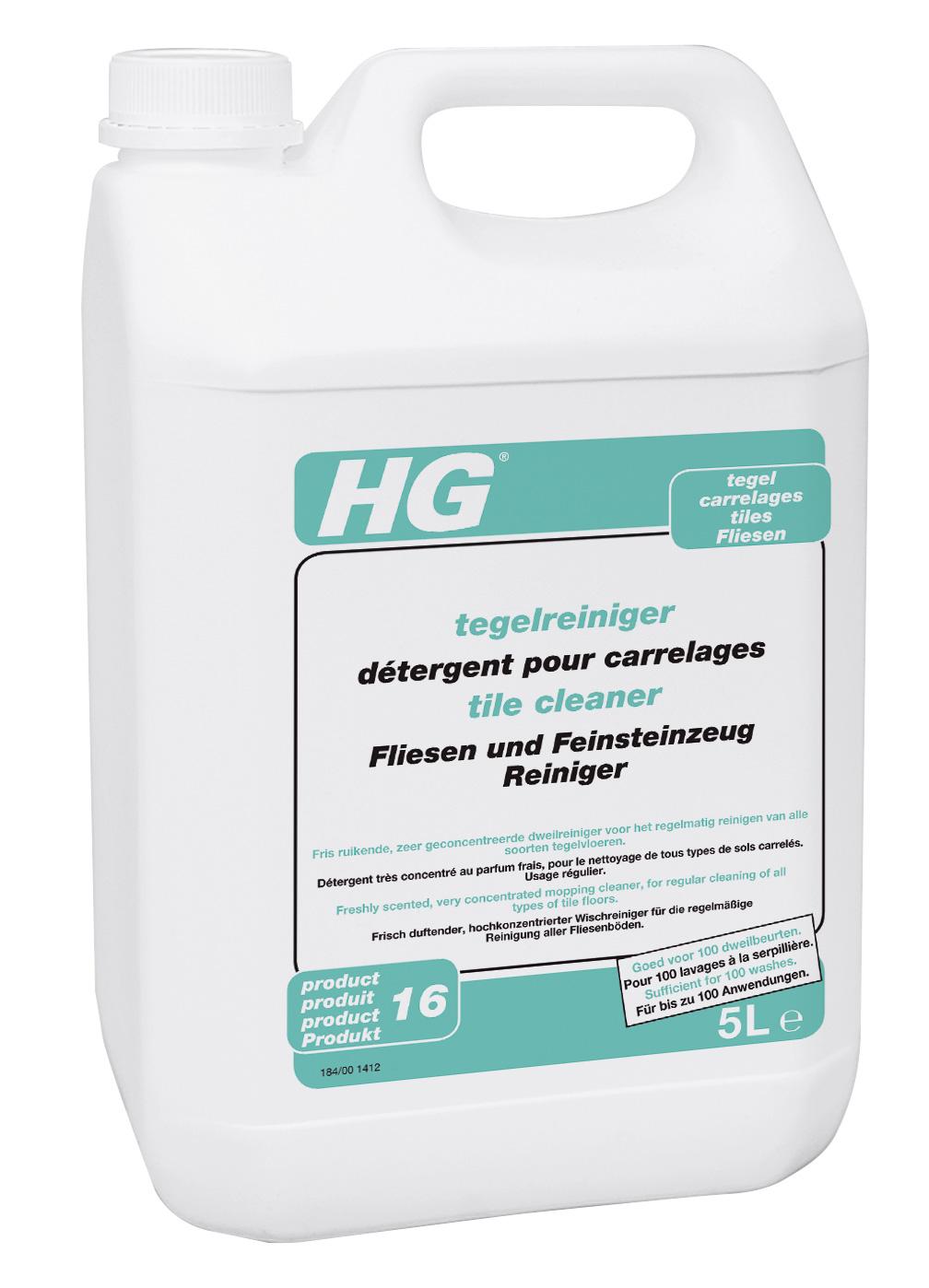 HG Fliesen- und Feinsteinzeug-Reiniger 5 Liter Bild 1