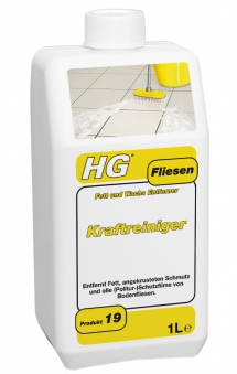 HG Kraftreiniger für Bodenfliesen und Steinplatten 1 Liter Bild 1